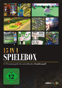 15 in 1 Spielebox