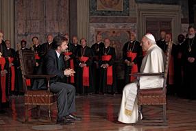 Habemus Papam Szenenbild 2