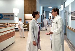 In aller Freundschaft - Die jungen Ärzte Szenenbild 9