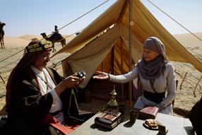 Königin der Wüste Szenenbild 1
