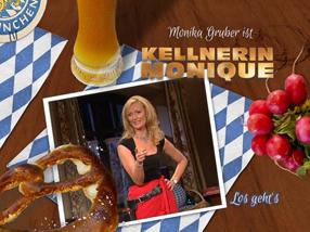 Monika Gruber ist Kellnerin Monique Szenenbild 1