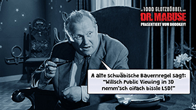 Die 1000 Glotzböbbel vom Dr. Mabuse Szenenbild 2