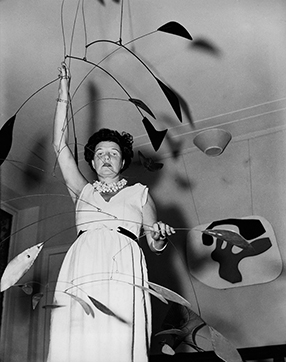 Peggy Guggenheim Szenenbild 2