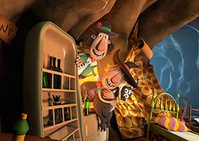 Zwei Freunde und ihr Dachs Szenenbild 6