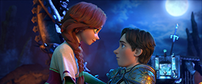 Mila und Ruslan Szenenbild 2