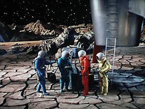 Reise zum Mond Szenenbild 1