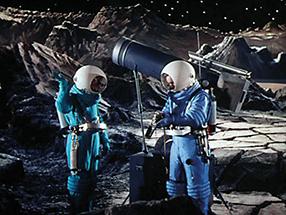 Reise zum Mond Szenenbild 2