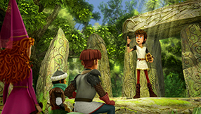 Arthur und die Freunde der Tafelrunde Szenenbild 5