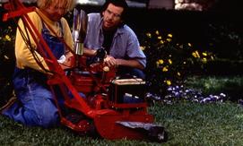 Der Rasenmäher Mann Szenenbild 1