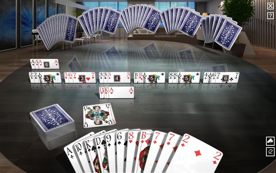 Silver Generation-Kartenspiele Deluxe Screenshot 1