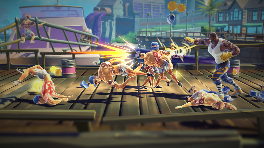 Shaq Fu: A Legend Reborn Screenshot 3