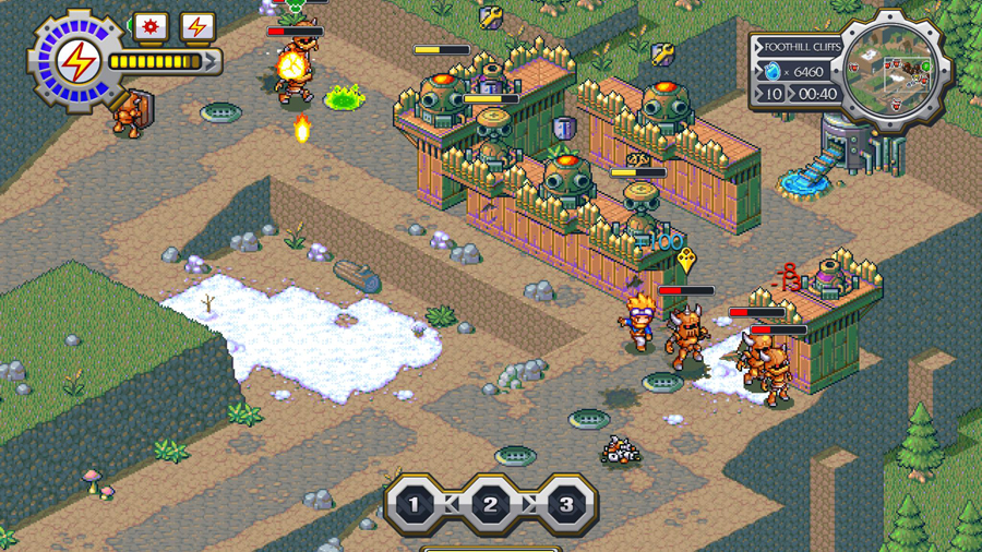 Lock's Quest Screenshot 1